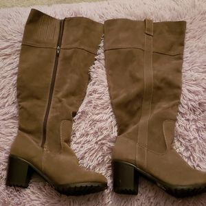 New Lane bryant  Knee length Wide calf boots